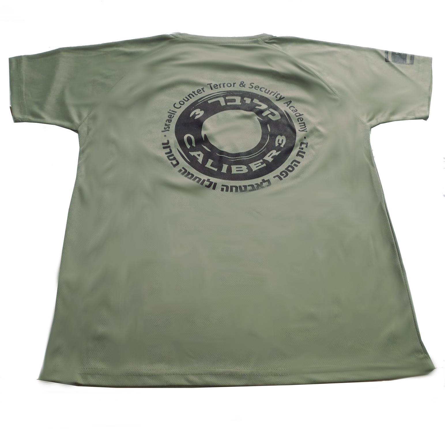 caliber 3 green cotton shirt back view.jpeg
