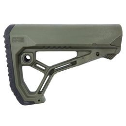 GL-CORE AR15/M4 Buttstock for Mil-Spec and Commercial Tubes - green