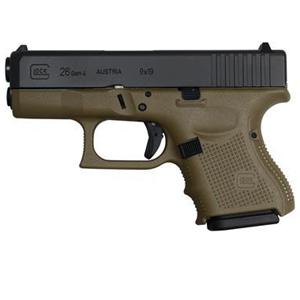 Glock 26 Gen4- green body