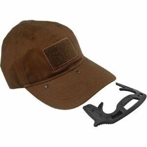 Tactical  Self-defense Hat- brown