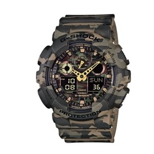 שעון ג'י שוק GA100CM-5A- ירוק