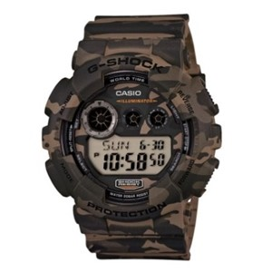Casio G-Shock watch GD120CM-  Watch Wood Camouflage Series