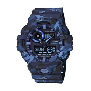 Casio G-Shock watch GA-700CM-2A- Blue