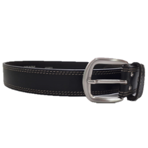 Leather belt-brown- Ohr Hayotzer