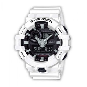 Casio G-Shock Watch GA700-7A in White