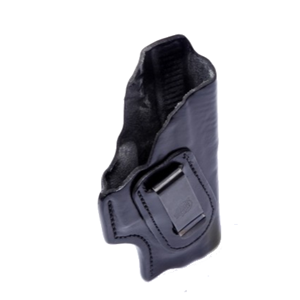 IWB Clip Leather Holster for S&W MP- Black FrontLine