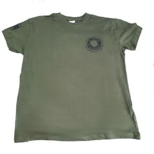 Caliber 3 Green Cotton Shirt