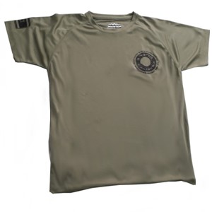Caliber 3 Green Dry-Fit Shirt