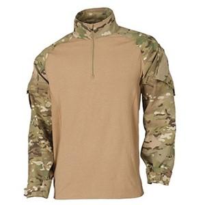 5.11 Rapid Assault Shirt- camouflage & brown