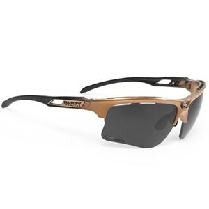 Rudy Sunglasses Keyblade Bronze Fade Black Matte Smoke Black
