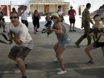 Tourists Flock to Israeli Shooting School