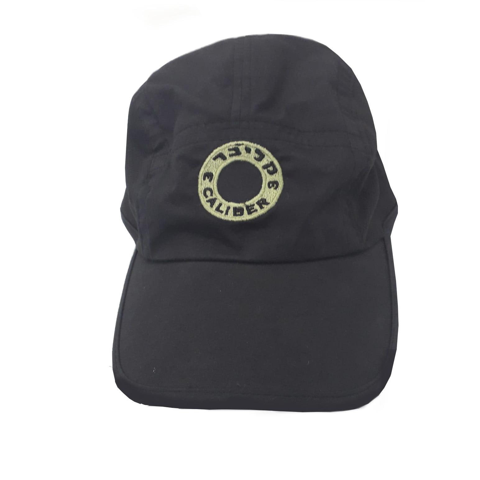 black dryfit hat front view2.jpeg