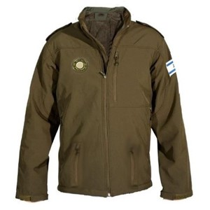 Caliber 3 Softshell Military Jacket in green