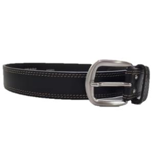 Leather belt-brown- Ohr Hayotzer