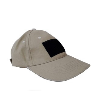 Caliber 3 tactical hat with velcro- khaki