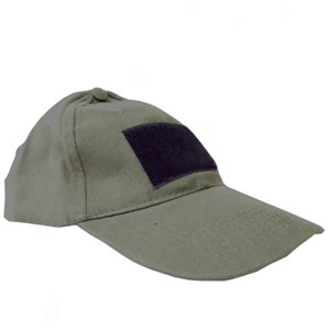 Caliber 3 green tactical hat with velcro