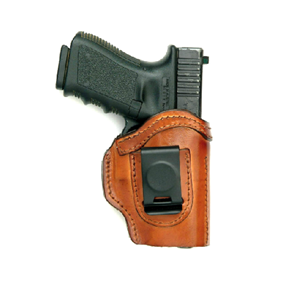 Let-handed Ready 'N Safe With Alpha-Lining for Glock - brown FrontLine