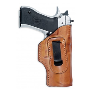 IWB Clip Leather Holster for Jericho- Brown FrontLine