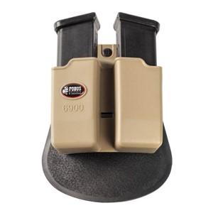 Double Magazine Pouch for Glock , khaki- Fobus