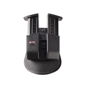 Fobus Double Magazine Pouch - 9mm, black