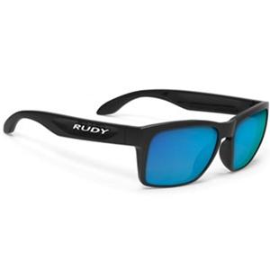 משקפי רודי Spinhawk Slim Black Gloss Multilaser Blue