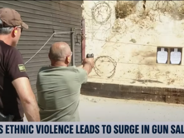 Ethnic Violence in Israel Drives Surge in Gun Sales