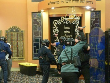 American Jews learn how to shoot back
